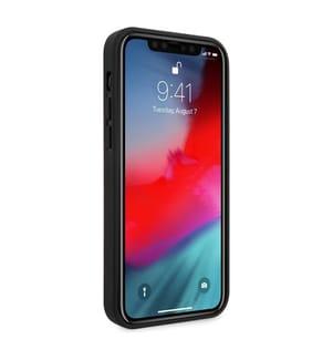 Telefonschale Ferrari Stitch Line iPhone 12 Pro - Schwarz