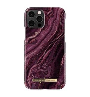 Telefonschale Ideal Of Sweden Fashion iPhone 12/iPhone 12 pro - Bordeaux