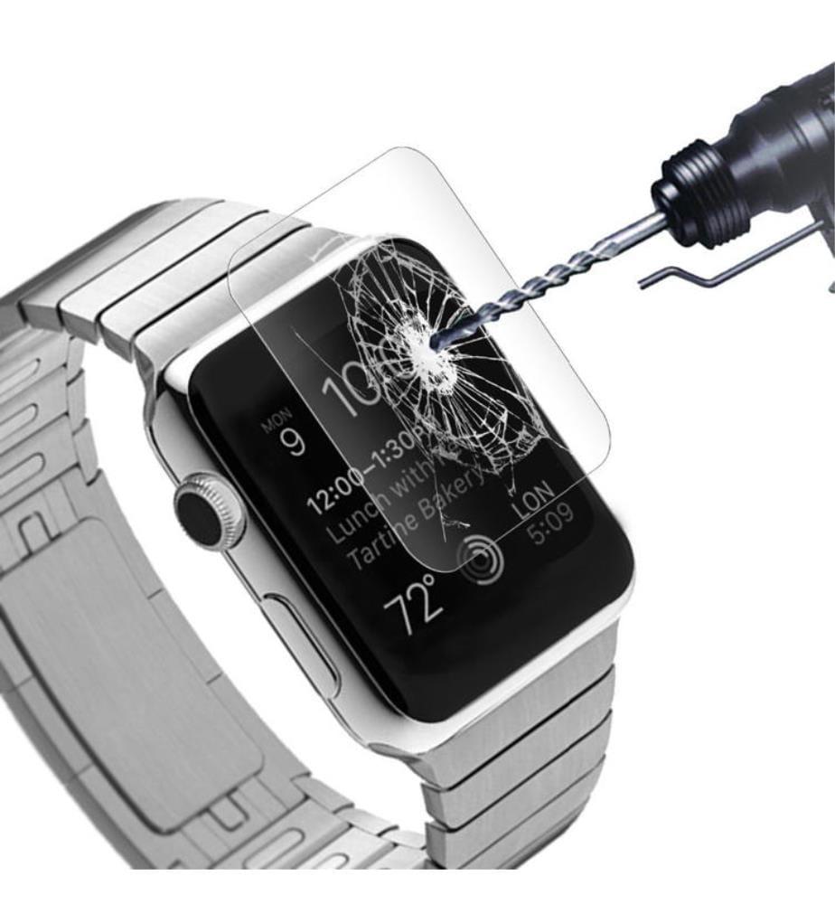 3er-Set Displayschutzfolien Apple Watch 40mm - Silber