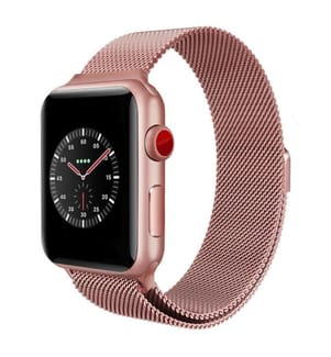 Apple Watch 44mm Kompatibles Armband - Rosa