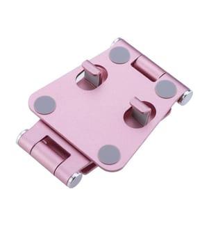 Faltbarer Tischständer für Smartphones und Tablets - Pink