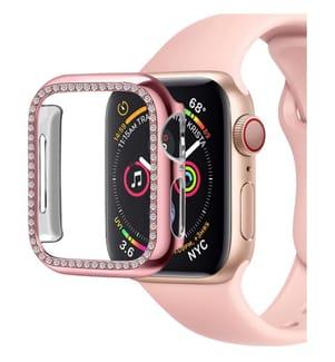 Schutzkappe mit Paillettenfür Apple Watch 38mm - Pink