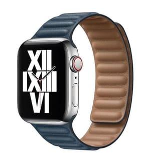 Magnetisches Gliederarmband für Apple Watch 42/44mm - Blau