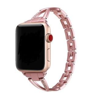 Strass-Armband für Apple Watch 38/40mm - Pink