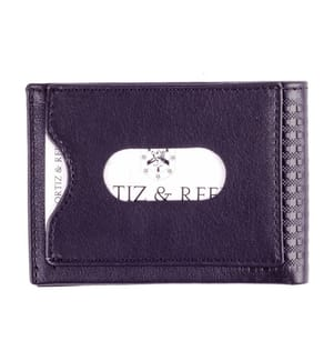 ORTIZ & REED - Lederbrieftasche Scott - Violett