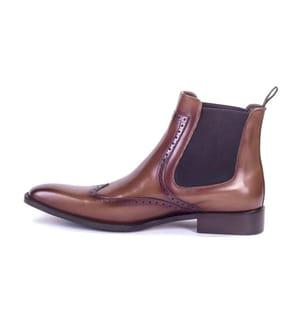 ORTIZ & REED - Chelsea Boots - Cognac