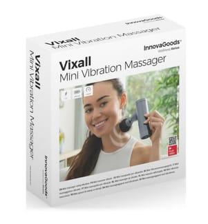 Mini-Vibrationsmassagegerät Vixall - Grau und Schwarz