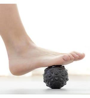 Vibrierender Massageball - Schwarz