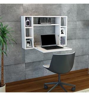 Klapp-Schreibtisch Omega - Weiss