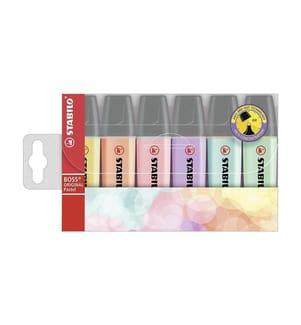 STABILO - Leuchtmarker Pastell 6 Stück