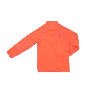 Fleece-Pullover Mädchen 10 bis 16 Jahre, Koralle