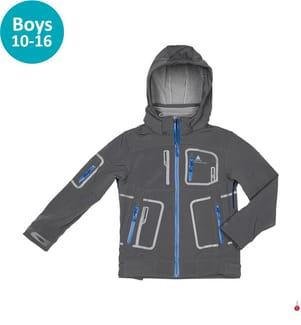 Blouson Ecofitbi Jungen 10 bis 16 Jahre, Grau