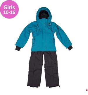 Ski-Ensemble Gazly Mädchen 10 bis 16 Jahre, Türkis