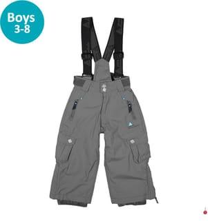 Skihose Eltaro Jungen 3 bis 8 Jahre, Grau