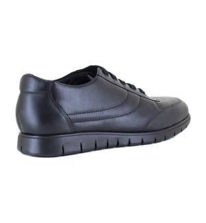 PIERRE CARDIN - Leder-Sneakers - Schwarz