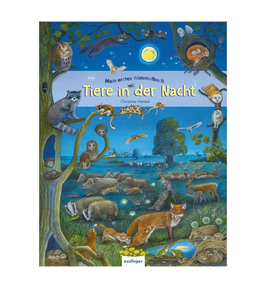 Mein erstes Wimmelbuch: Tiere in der Nacht