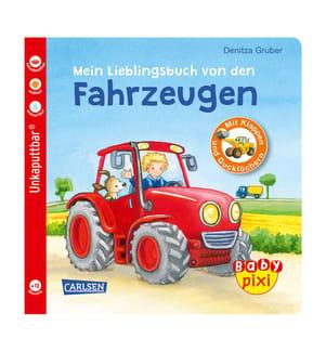 Baby Pixi 68: Mein Lieblingsbuch von den Fahrzeugen