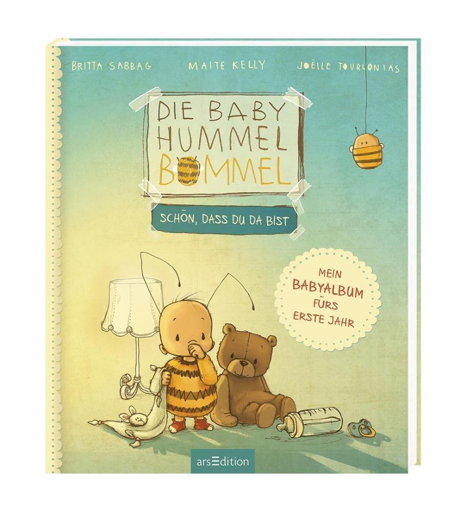 Die Baby Hummel Bommel - Schön, dass du da bist! Mein Babyalbum fürs erste Jahr
