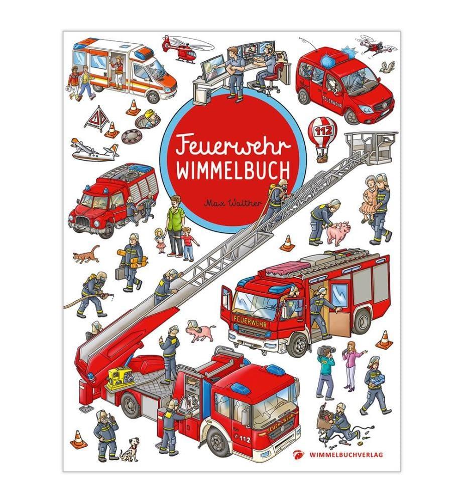 Feuerwehr Wimmelbuch