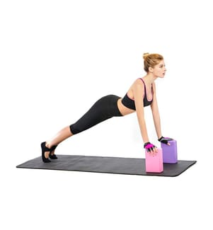Yoga-Block - Violett
