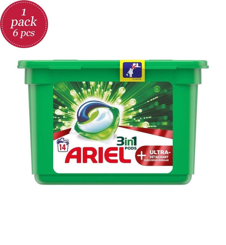 ARIEL - Flüssigwaschmittel Pods 392GM 3in1 Ultra Ablöser - 14 Waschgänge