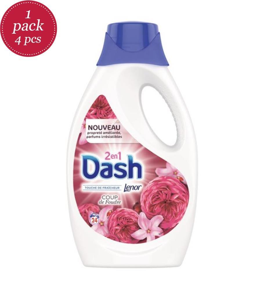 DASH - Flüssigwaschmittel 1.32L 2in1 Lenor - 24 Wäschen