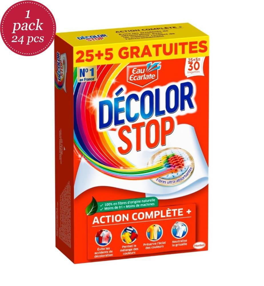 DECOLOR STOP - 24 Packungen à 30 Anti-Decolorationstücher Décolor Stop