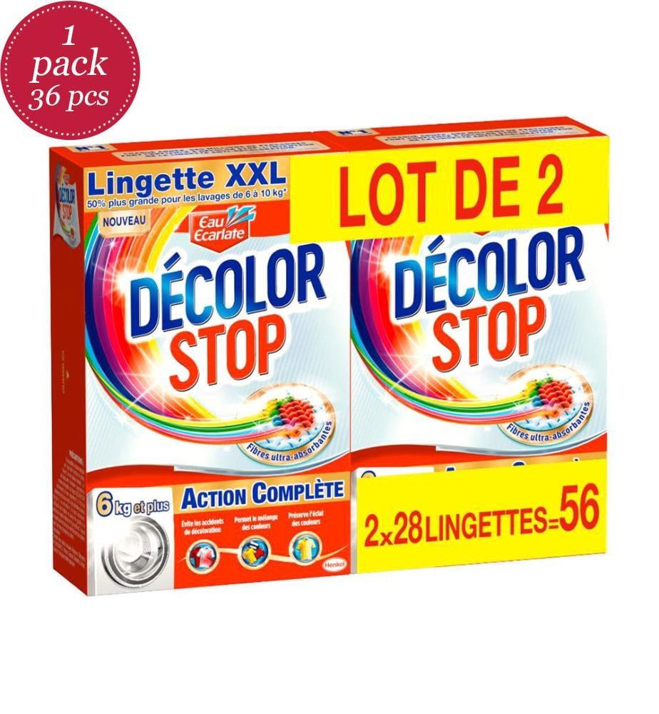 DECOLOR STOP - 36er-Set Decolor Stop Lingette Anti-Entfärbung Complete Action - 56 pcs