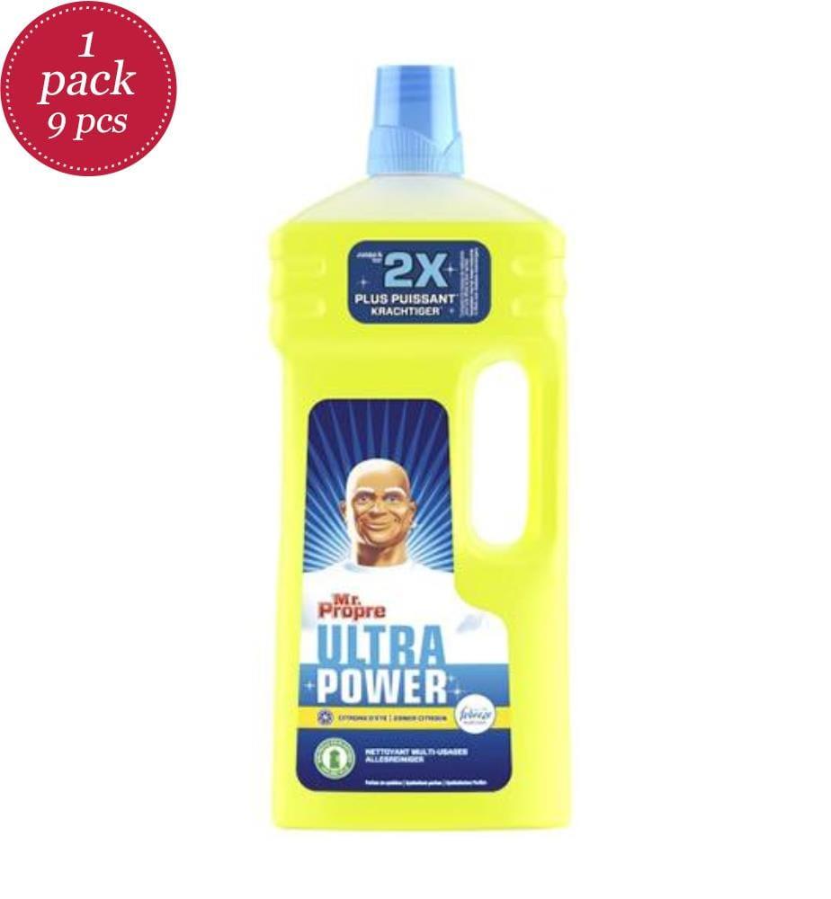 MR CLEAN - Mehrzweckreiniger 1.3L Ultra Power - Sommer Zitrone Febreze