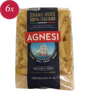 Agnesi Tortiglioni N°46 - 6 x 500 g