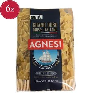 Agnesi Cravattine N°60 - 6 x 500 g