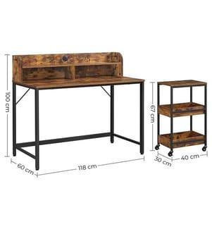 VASAGLE - Computer-Schreibtisch