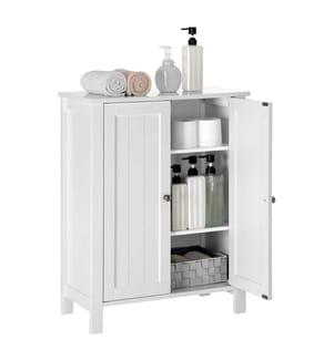 VASAGLE - Badezimmermöbel BCB60W - Weiss