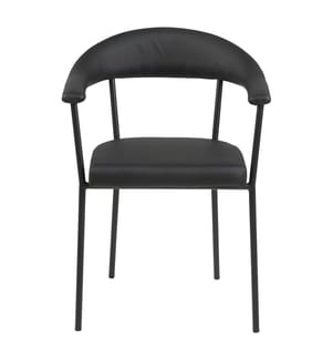 2er-Set Stühle Ava - Schwarz
