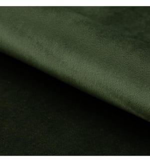 Sessel Chise - Dunkelgrün und Gold