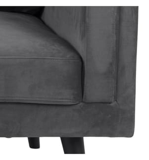 3-Sitzer Sofa Montreal, Grau