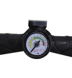 Doppelhub-Pumpe für SUP - Schwarz
