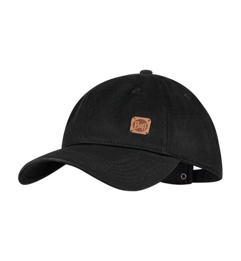 Basecap Baseball Solid - Schwarz