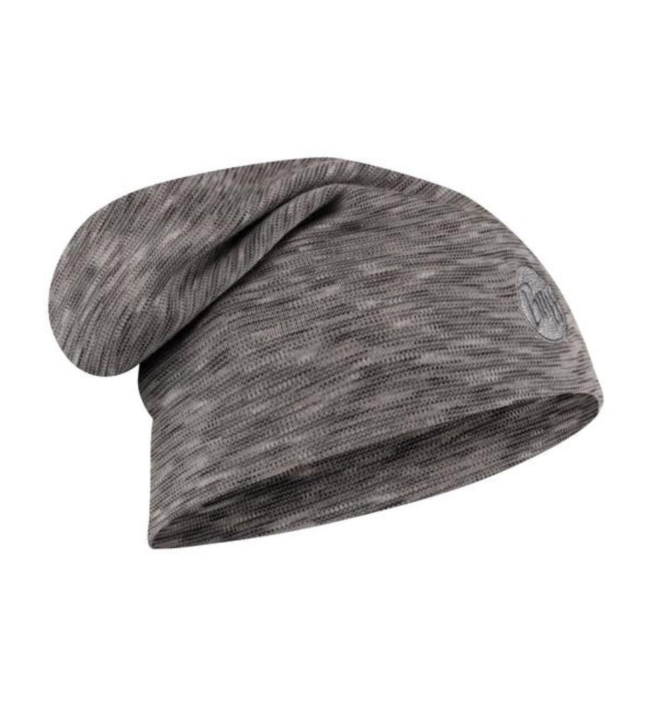 Merino Heavyweight Fog Grey Multi Beanie
