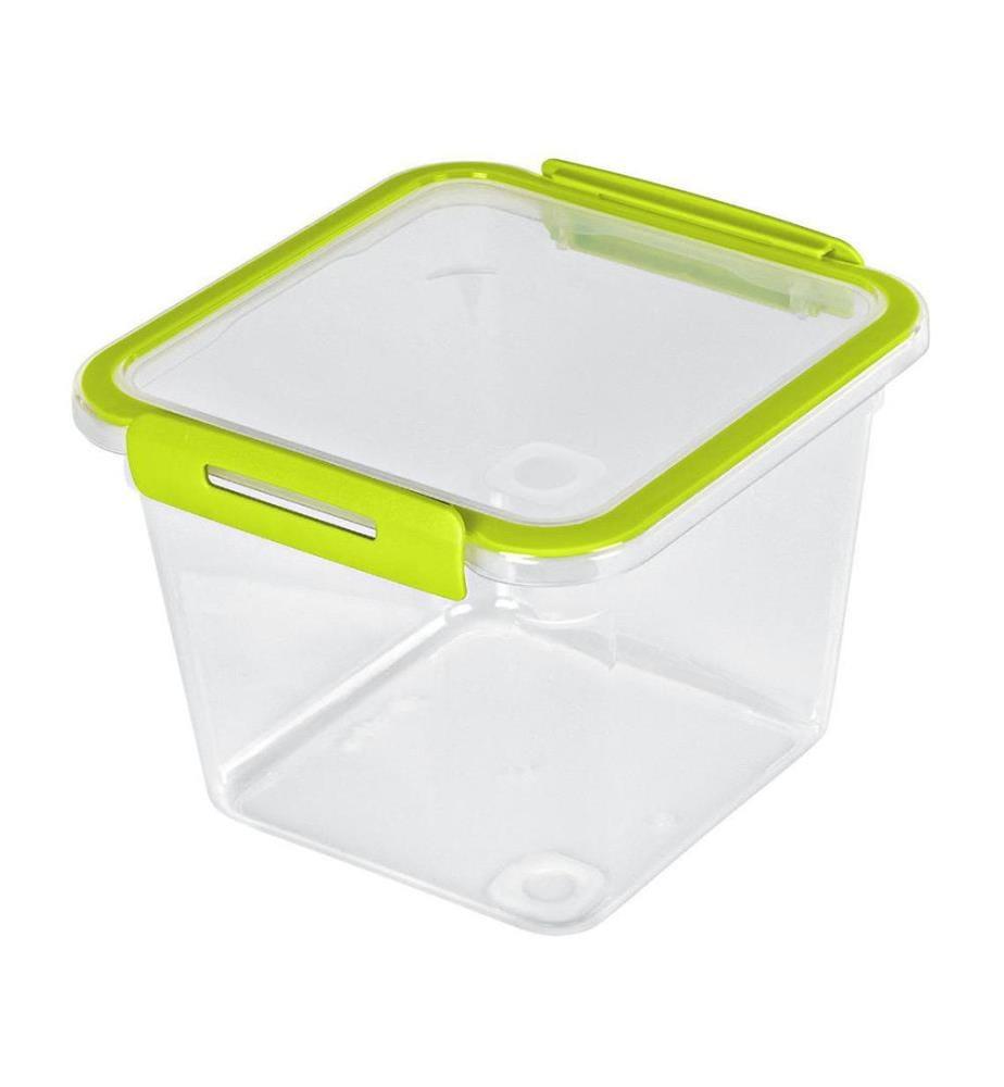 ROTHO - Vorratsbehälter Memory Lime 1.6 L, Transparent
