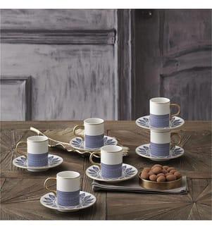 12-Teiliges Kaffee-Service  - Multicolor