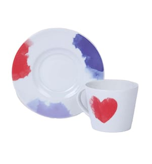 Teetassen-Set (2 Stück) - Multicolor