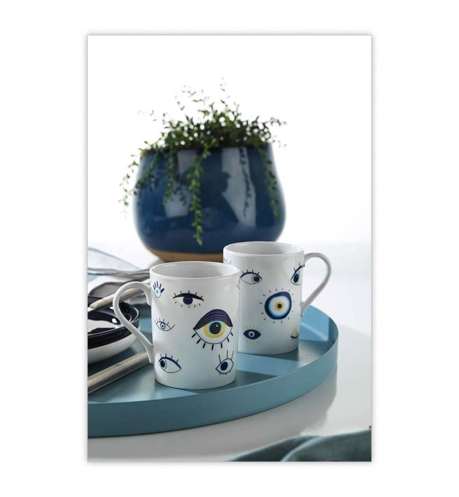 Mug-Set (2 Stück) - Multicolor
