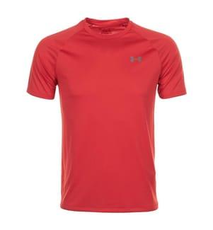 UNDER ARMOUR - Funktions-T-Shirt Heatgear - Rot