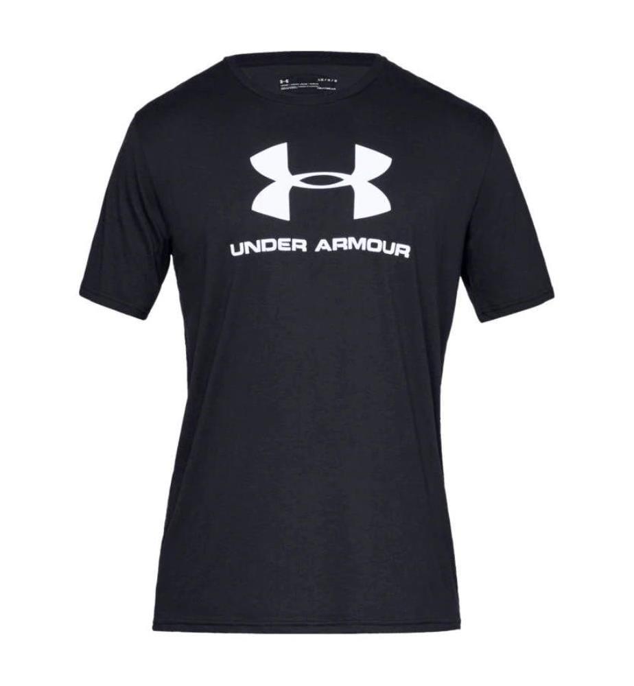 UNDER ARMOUR - T-Shirt UA Sportstyle Logo - Schwarz