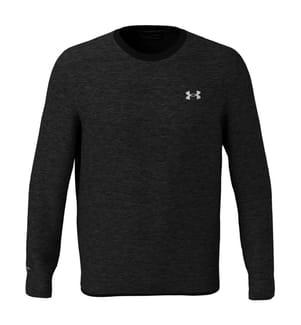 UNDER ARMOUR - Sweatshirt Fleece Crew - Dunkelgrau