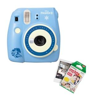 FUJIFILM - Sofortbildkamera Instax mini 9 Ice Blue + Fotokartusche 40 Aufnahmen