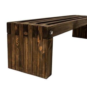 Sitzbank - Braun