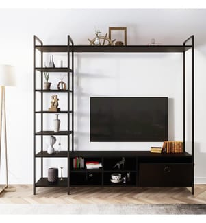TV Stand - Schwarz