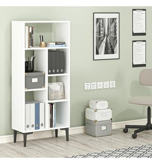 Bücherregal - Weiss